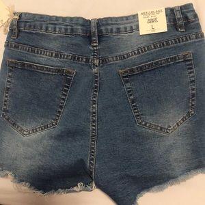 American Bazi Shorts - High waisted distressed shorts
